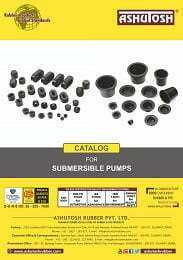 Catalog for Submersible Pump