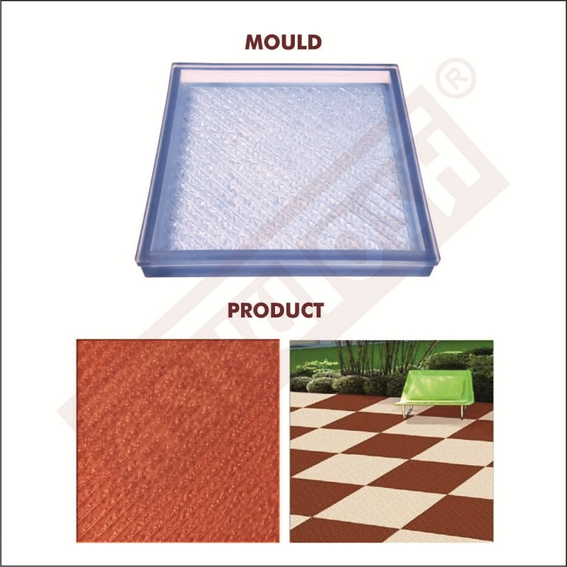 PVC Moulds for Parking Tiles