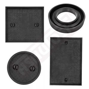 Rubber Moulds for Manhole Covers